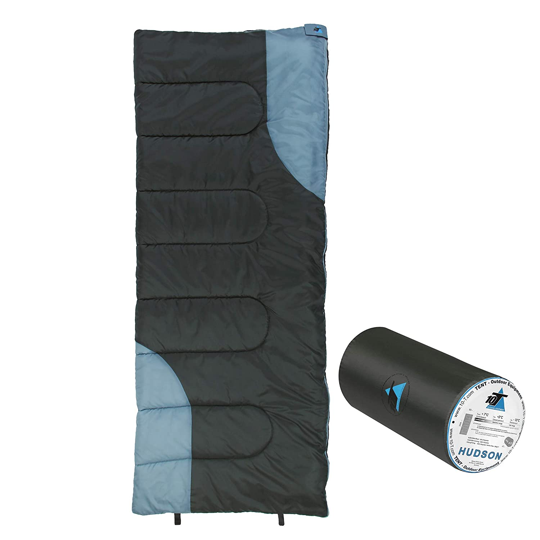 10T Outdoor Equipment 10T Hudson Saco de Dormir de Manta, Gris, Está ndar Estándar 765631