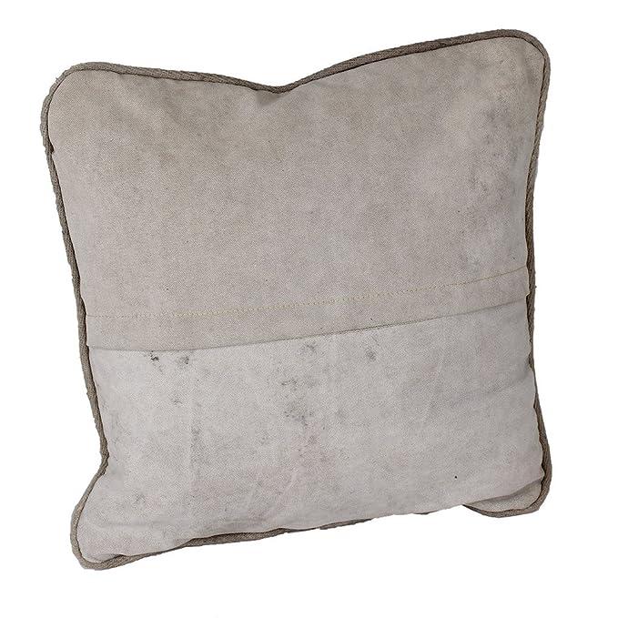 LAROUCO LOFT Cojín industrial con relleno en loneta de algodón. Vintage, Retro.Salón, dormitorio, habitacion,estancias.Sofa,cama,sillón. Medidas 40X40 ...