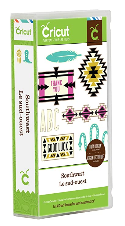 Amazoncom Cricut Everyday Southwest Cartridge