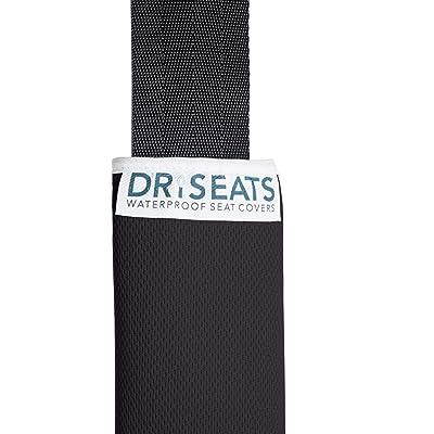 Dri Seats Waterproof Seat Belt Covers (2 Pack) (Black): Automotive [5Bkhe0116063]