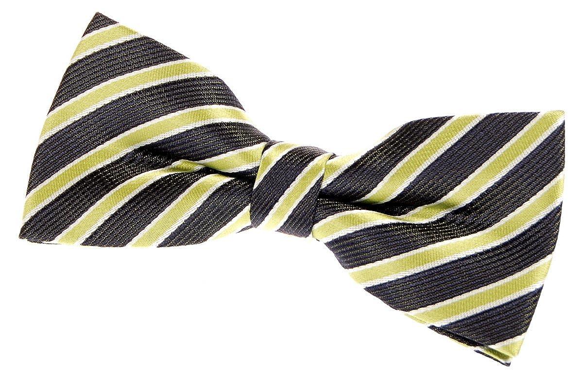 4.5 Various Colors Retreez Two-Colour Stripe Woven Pre-tied Bow Tie