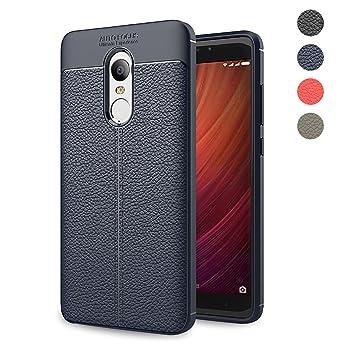 Funda Xiaomi Redmi Note 4X,Amytech Lujo Silicona Fundas para Redmi Note 4X Carcasa Xiaomi Redmi Note 4X Fibra de Carbono Funda Case