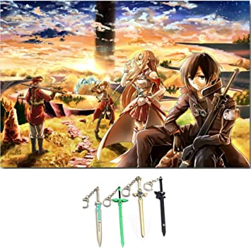 Amazon.com: Traveloxicity Gear Sword Art - Póster en línea ...