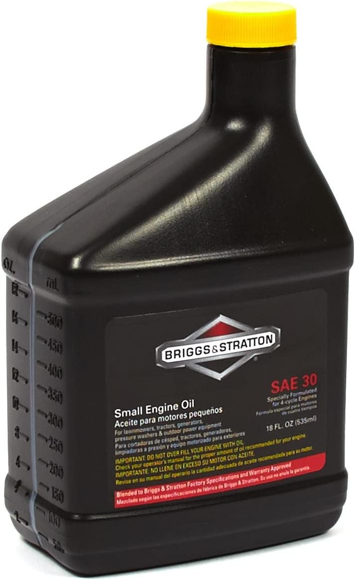 Best Oil For Toro Lawn Mower-Briggs & Stratton 100005 SAE 30W Engine Oil review