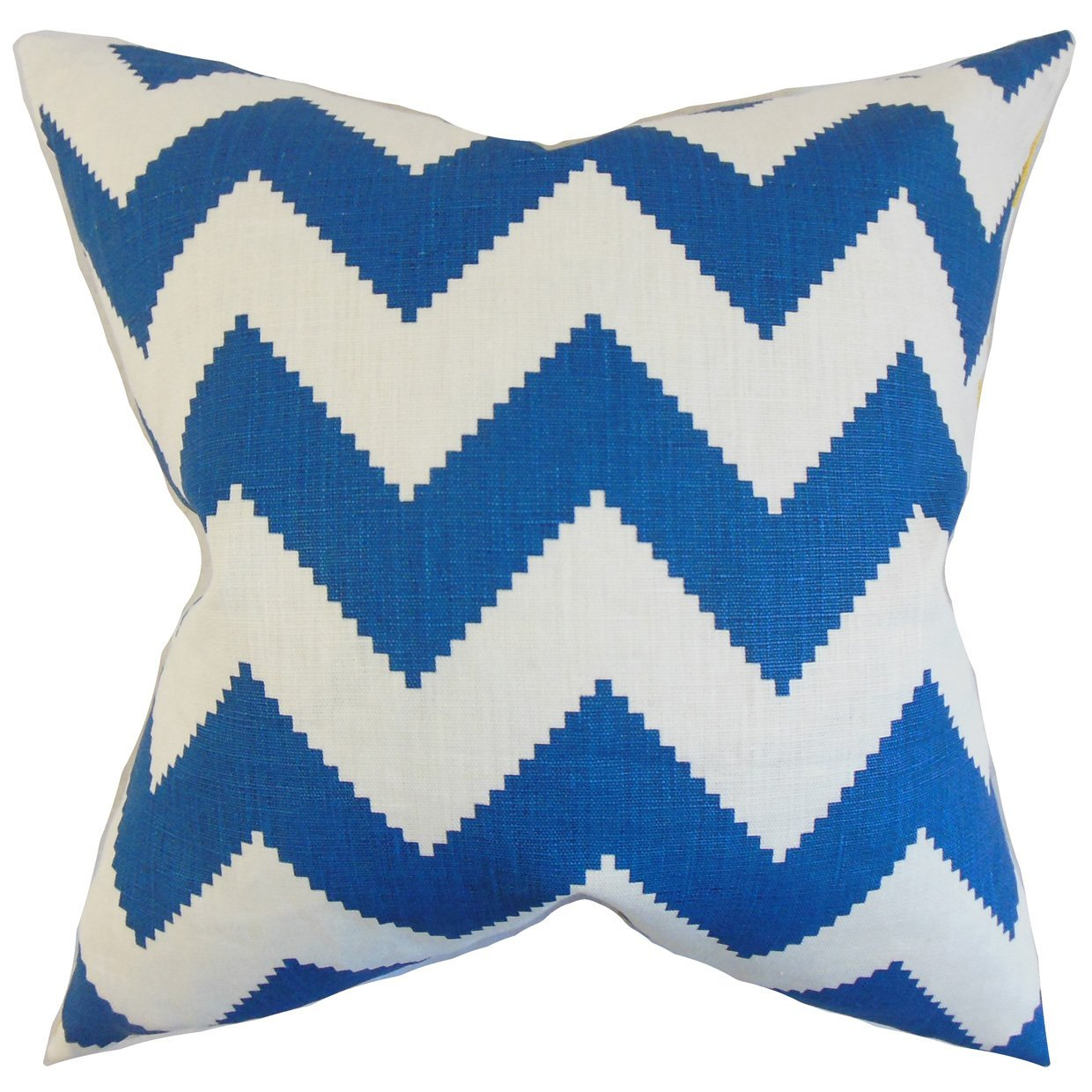 The Pillow Collection Maillol Zigzag Bedding Sham Marine King/20' x 36'