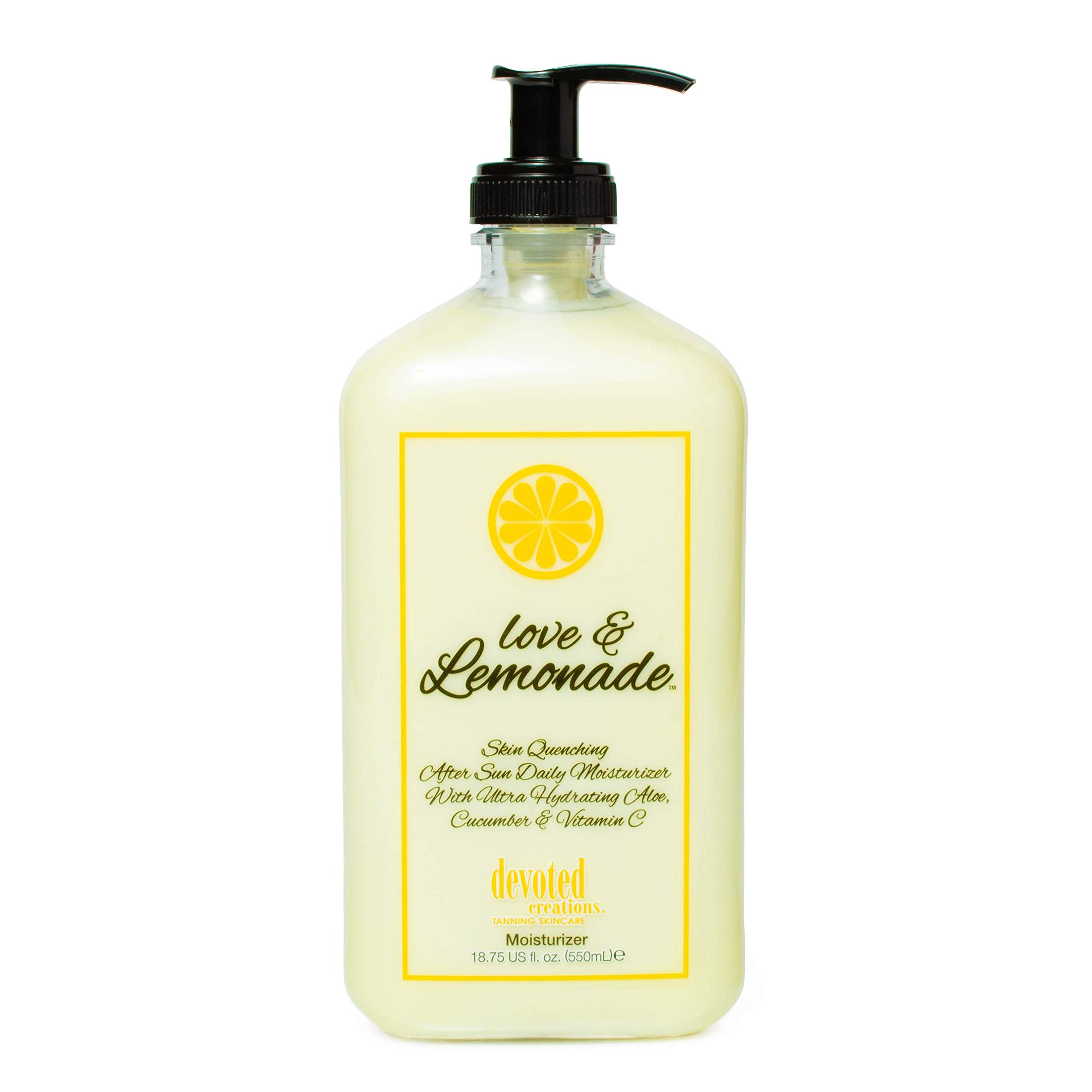 Love & Lemonade Moisturizer by Devoted Creation 18.75 oz. by Devoted Creations