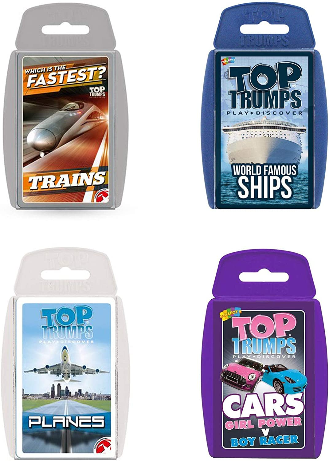 Top Trumps World Famous Ships Card Game