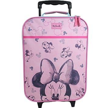 Maleta para niños Maleta Carrito Equipaje de Mano Bolsa Chica Disney Minnie Mouse: Amazon.es: Juguetes y juegos
