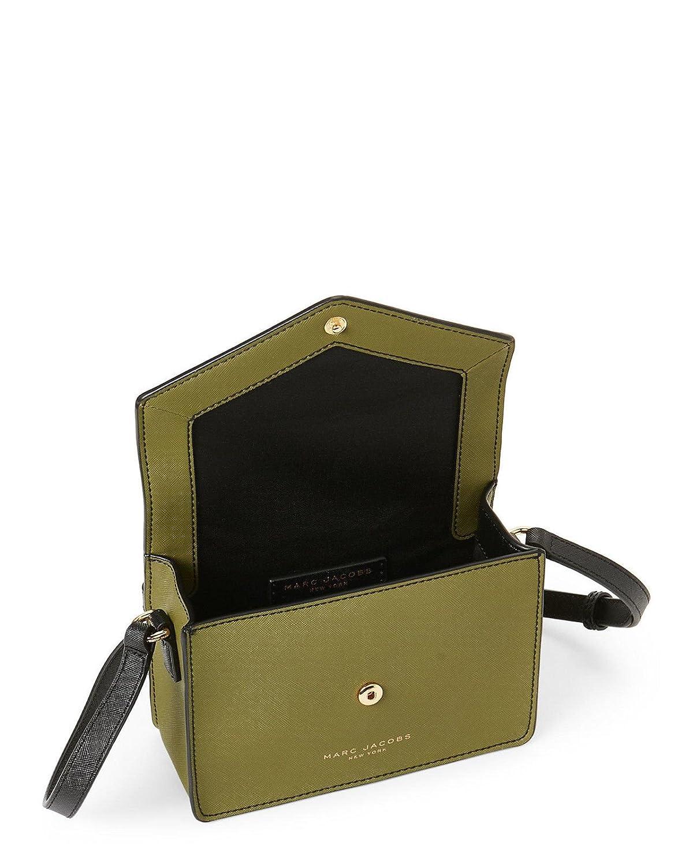 d3c22f21f640d Amazon.com: Marc Jacobs Avocado Multi Floral Small Saffiano Leather Cross  Body Bag: Shoes