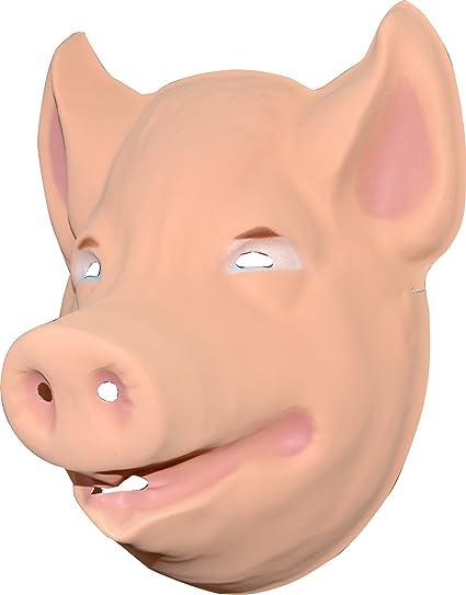 Aptafêtes-Máscara infantil, diseño de cerdo