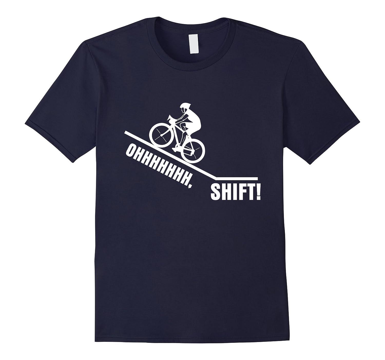 Oh Shift Funny Cycling Shirt Gift-Vaci