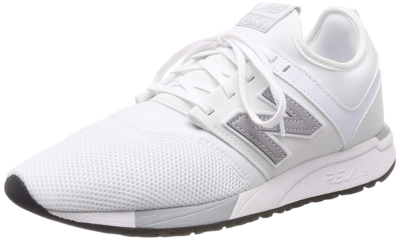 White (White Silver Om) New Balance Men's 247v1 Trainers