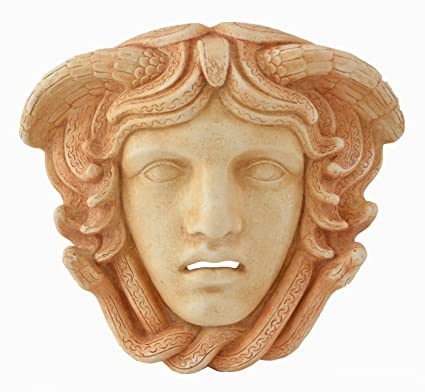Medusa Mask - Ancient Greek Theatre -Gorgon Medousa
