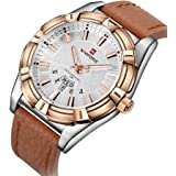 Naviforce Dress Watch For Men Analog Leather - NF9118