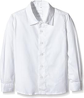 NAME IT Jungen Hemd Weiß (Bright White) 122 (Herstellergröße: 122-128) 13126741