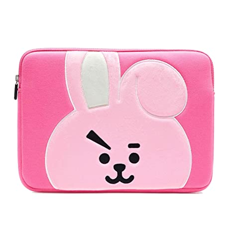 purchase cheap 8fb1d 66908 BT21 Official Merchandise by Line Friends - Cooky 13 Inch Laptop Sleeve  Case Compatible with MacBook, iPad Pro, and 13
