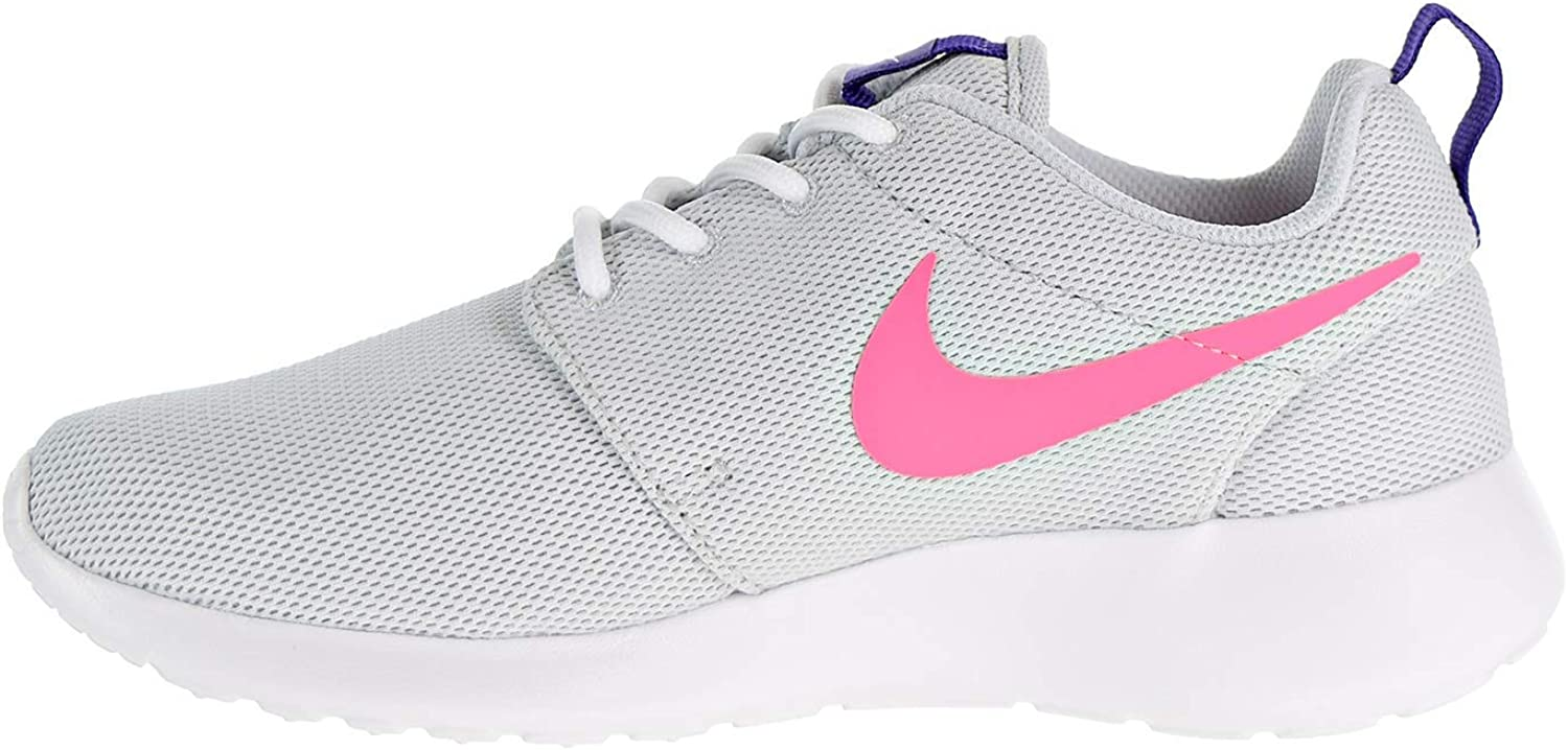 Nike Women's Low-Top Trainers Pure Platinum/Laser Pink
