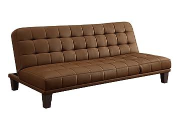 dhp metropolitan futon lounger camel amazon    dhp metropolitan futon lounger camel  kitchen  u0026 dining  rh   amazon
