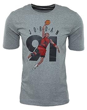 Nike AJ 6 Ninety One tee Camiseta de Manga Corta Línea Air Jordan, Hombre: Amazon.es: Deportes y aire libre