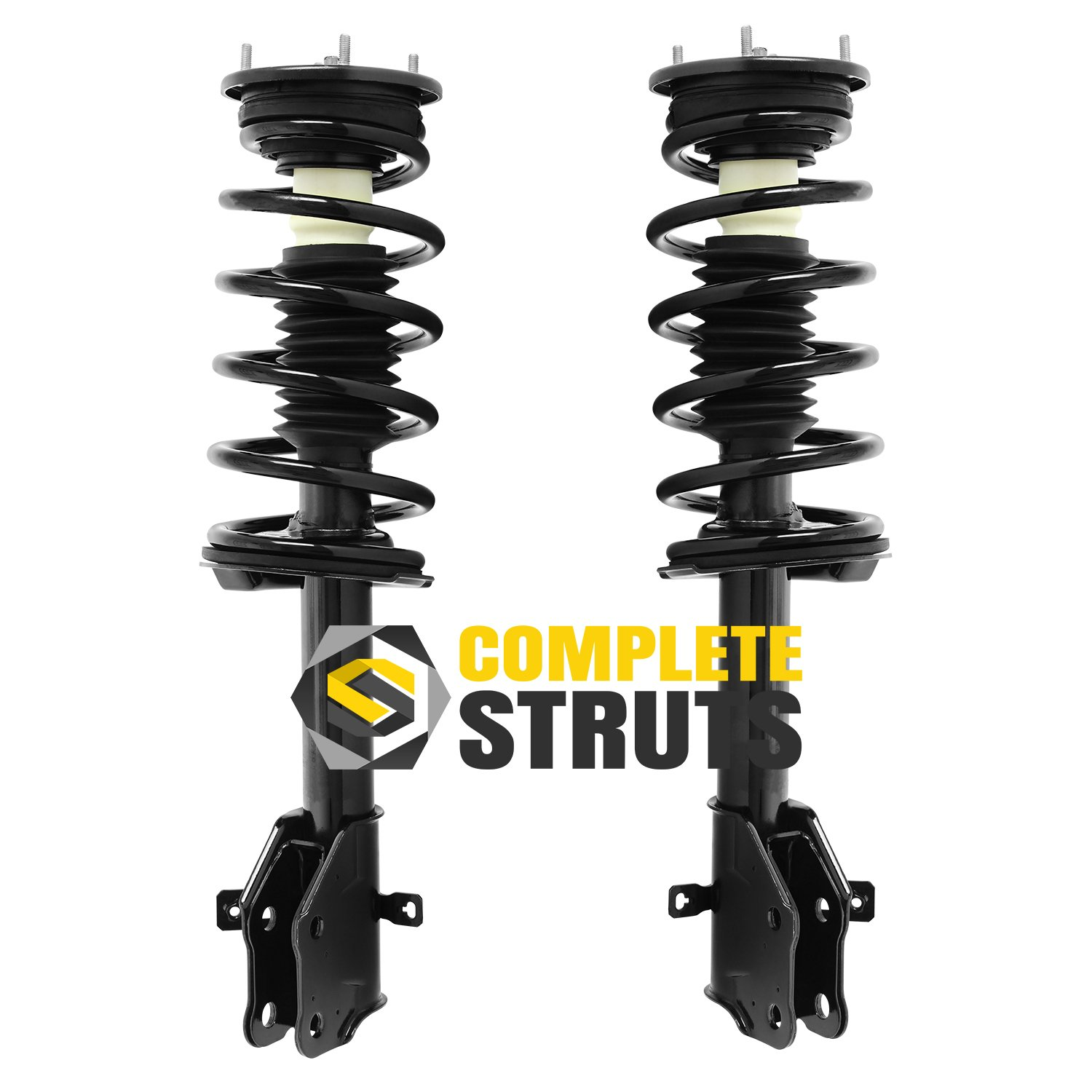 Pair Front Quick Complete Struts /& Coil Spring Assemblies Compatible with 2007-2010 Ford Edge