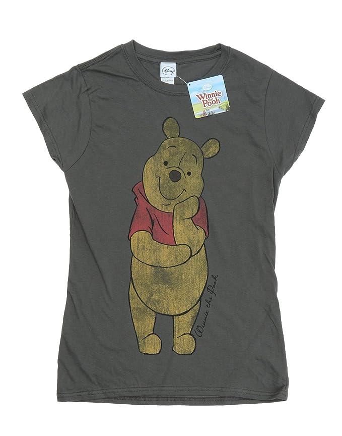 c66ddaf343c7 Disney Women s Classic Winnie The Pooh T-Shirt  Amazon.co.uk  Clothing