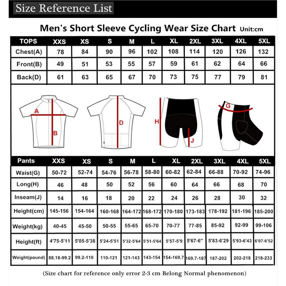 Qianliuk Hombres Retro Anti-Arrugas Ciclismo Jersey de ...