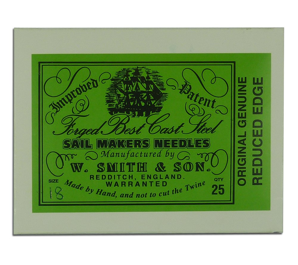 Wm. Smith & Son 25-pk of #18 Sailmakers' Needles by Wm. Smith & Son