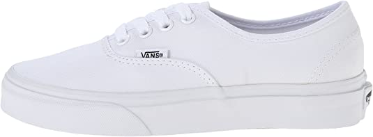 Mal funcionamiento Pulido Uva  Vans Unisex Authentic True White Skate Shoe | Fashion Sneakers - Amazon.com