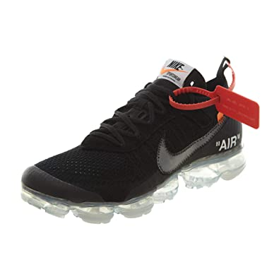 timeless design 97f8a d3400 Nike Air Vapormax x Off White Black 2.0 - Black Clear-Total Orange Trainer