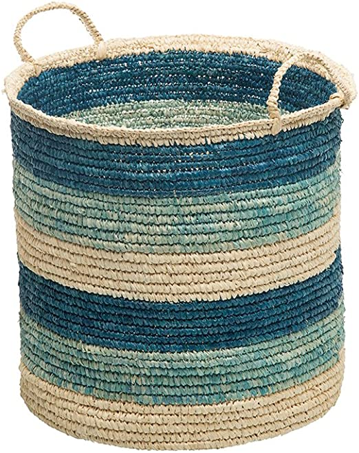 Brown Kouboo Square Sisal Storage Basket with Handles