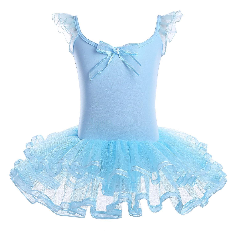 Amazon.com: YiZYiF Girl\'s Kids Ballet Costume Tutu Leotards Dance ...