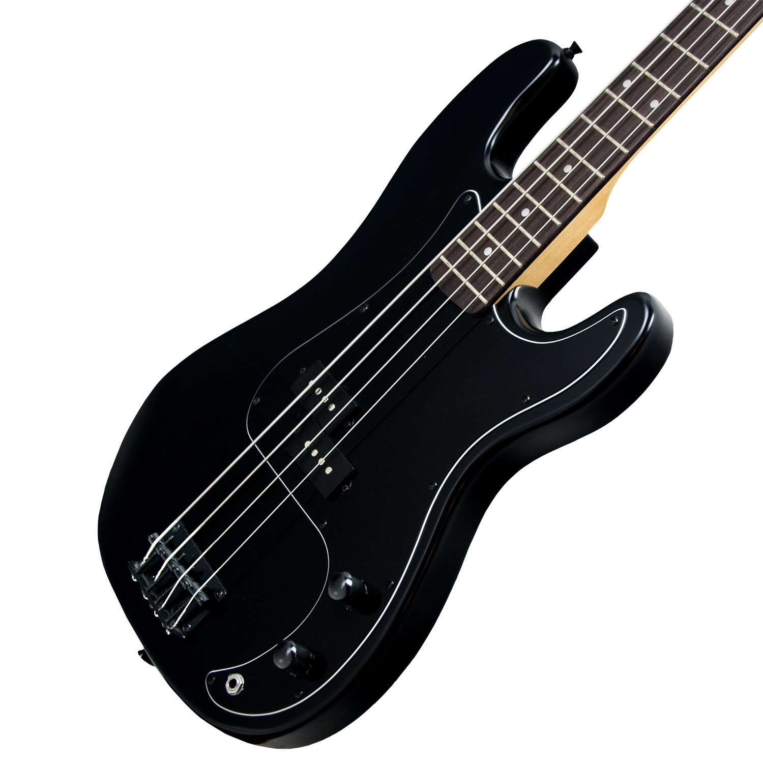 Sawtooth 4 String EP Series Electric Bass Guitar with Gig Bag & Accessories, Satin w/Black Pickguard, Right Handed (ST-PB-STNBKB-KIT-1) by Sawtooth (Image #8)