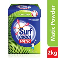 Surf Excel Matic Top Load Detergent Powder, 2 kg