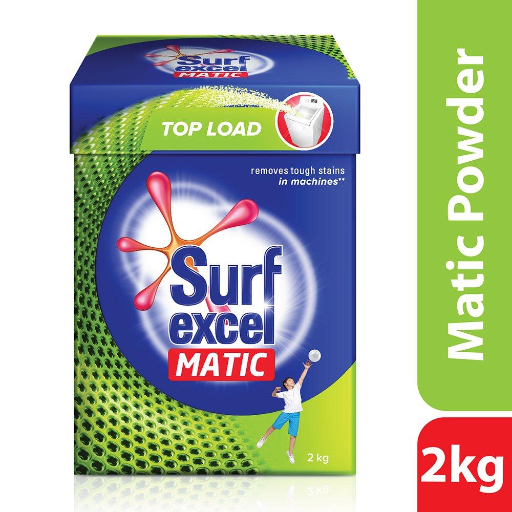 Surf Excel Matic Top Load Detergent Powder, 2 kg product image
