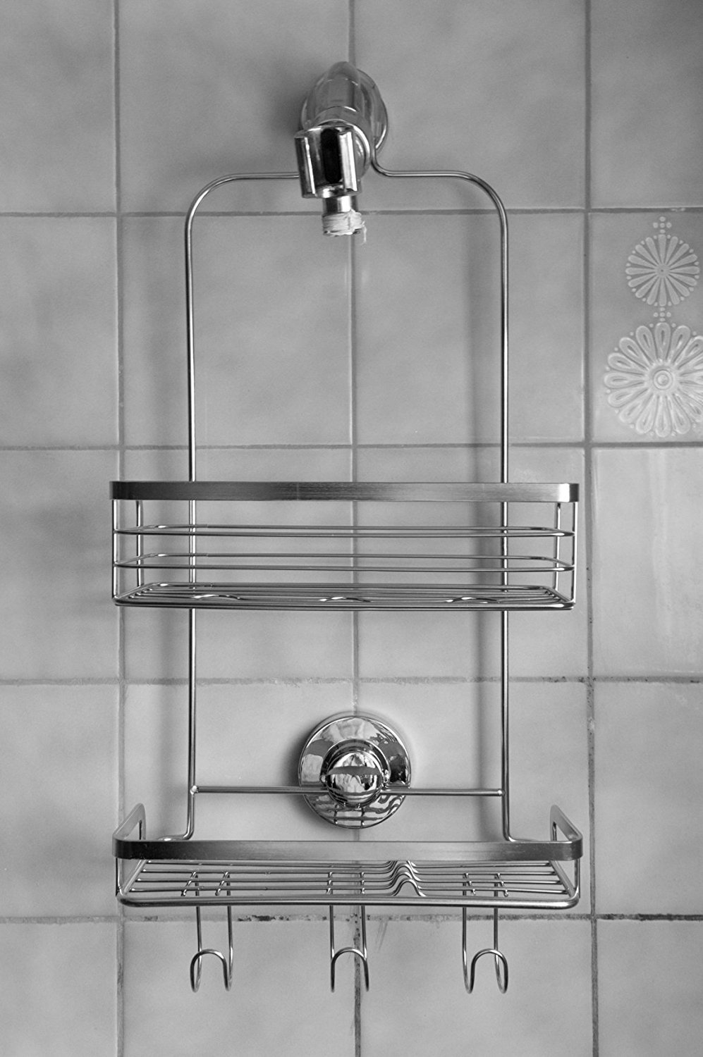 Vidan Home Solutions Over The Door Shower Caddy Rustproof