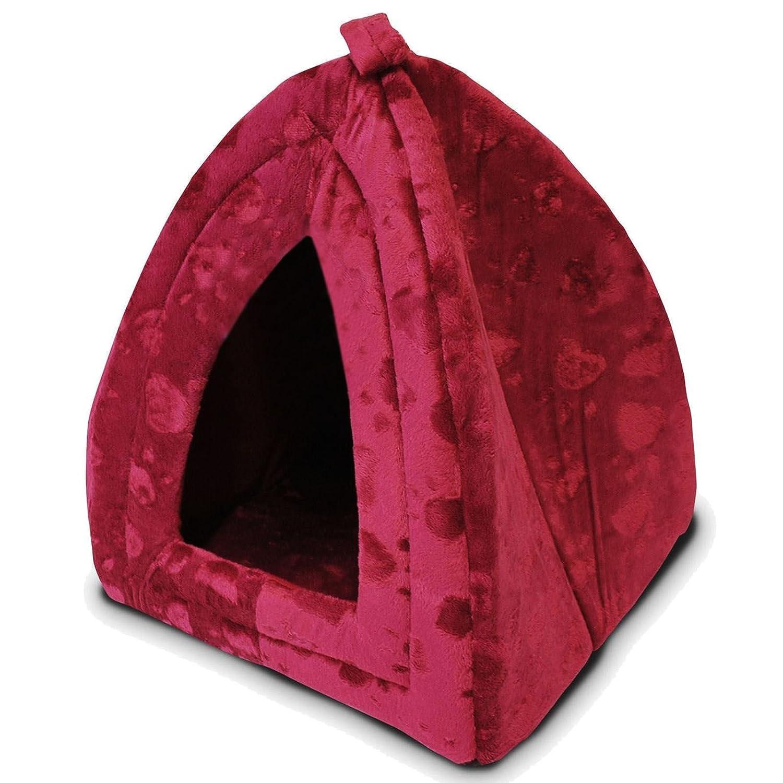 Lujo Igloo mascotas perro gato suave cómodo Casa Cama Igloo: Amazon.es: Productos para mascotas