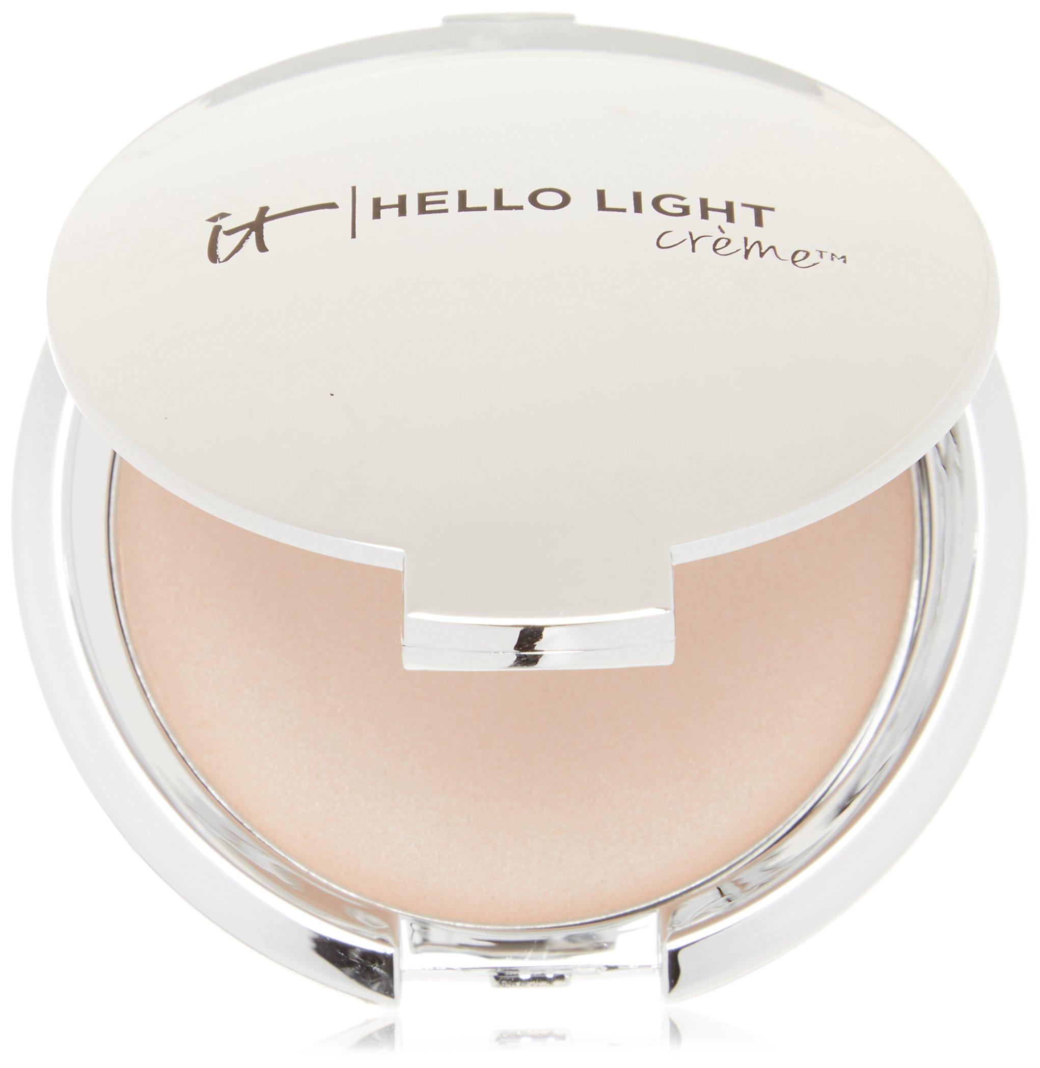 It Cosmetics Hello Light Creme Anti Aging Radiance Cream Luminizer 0.23 OZ