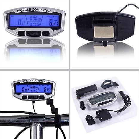 Amazon S AFSTAR Safstar LCD Bicycle Bike Cycling Computer