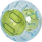 Boule d'exercice hamster, souris... diamètre 12,5 cm environ vert anis
