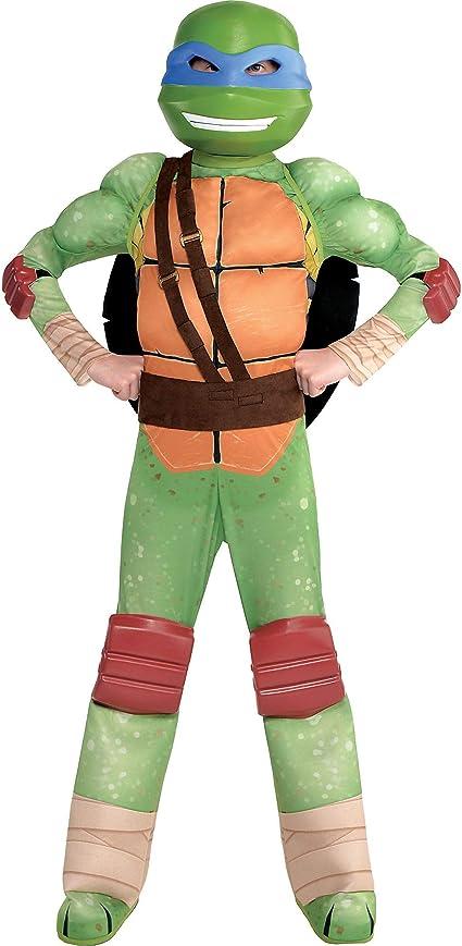 Amazon.com: Amscan - Disfraz de Leonardo Muscle Halloween ...