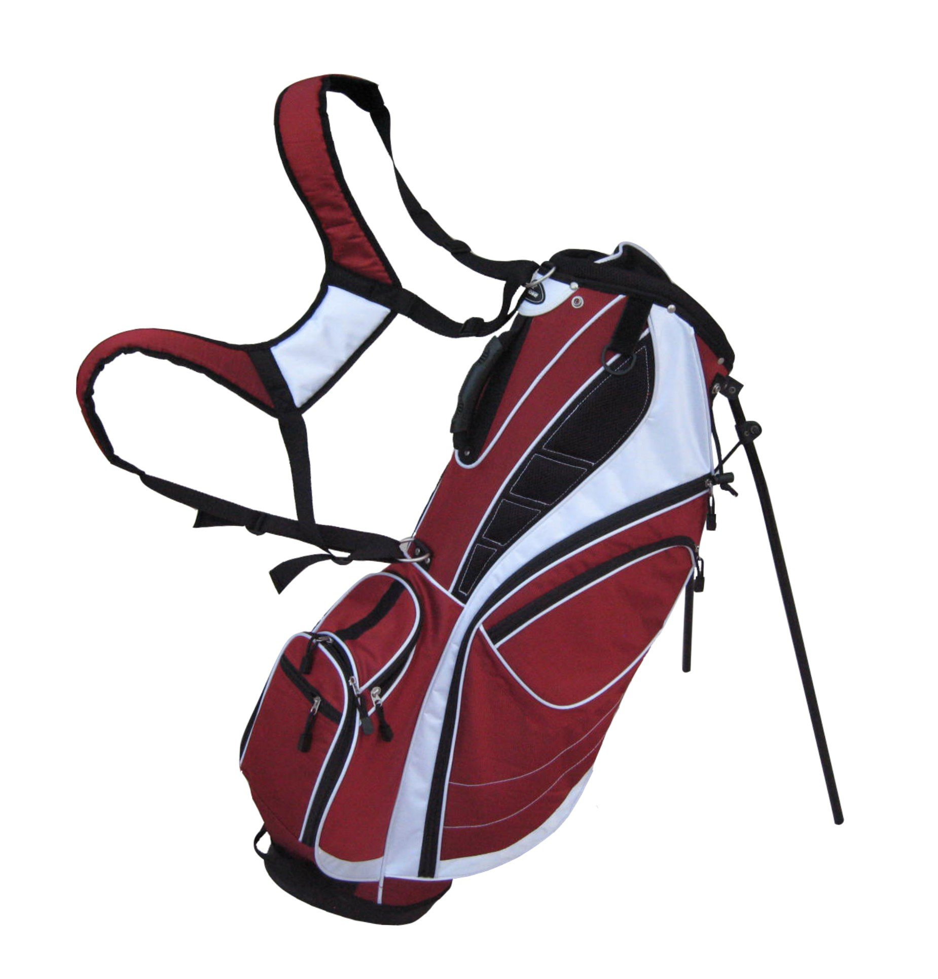 Precise Deluxe Stand Bag, Red