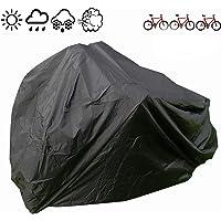 190T Waterproof Bike Cover Cycle Bicycle UV Resistant Rain Protector for 2 bikes