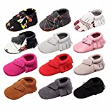 MEGNYA Leather Baby Boys&Girls First Walkers Soft