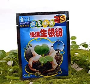 Maserfaliw Quick Rooting Powder 5Pcs Extra Fast Plant Flower Rooting Powder Quick Growth Transplant Fertilizer