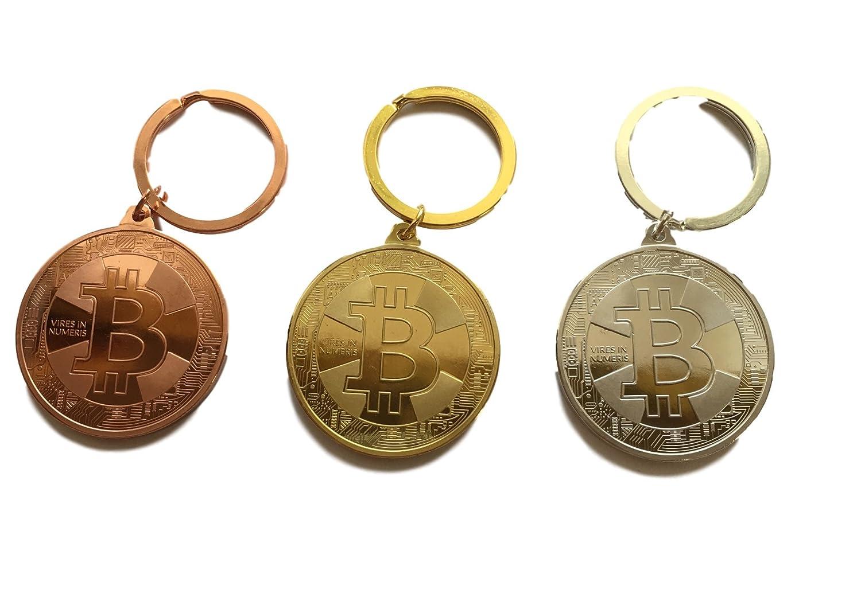 Bitcoin – Pendentif BTC – Pendentif en Argent ou Bronze – Accessoires – HOCHGLÄNZEND – Décoration Personnalisable – Décoration – Krypto Blockchain Fan