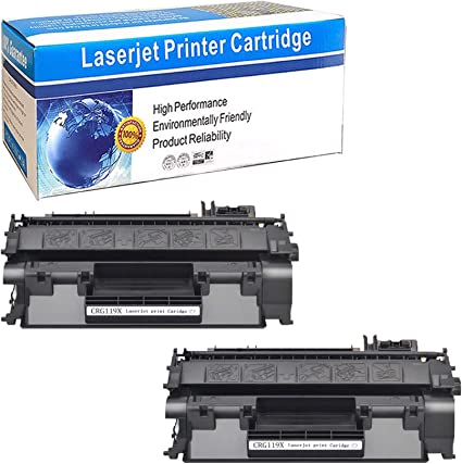 10pk Black Toner Cartridge For Canon 119 Imageclass MF5950dw MF5960dn MF5950dw