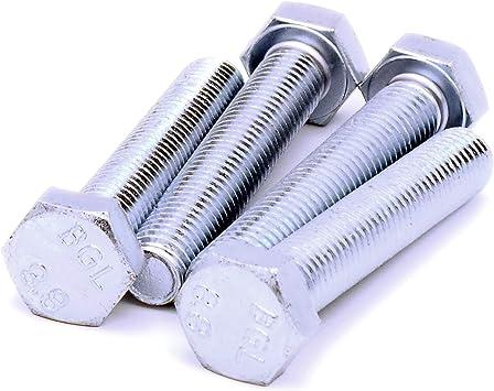Tornillos hexagonales M14 (14 mm x 80 mm) (rosca completa) – acero ...