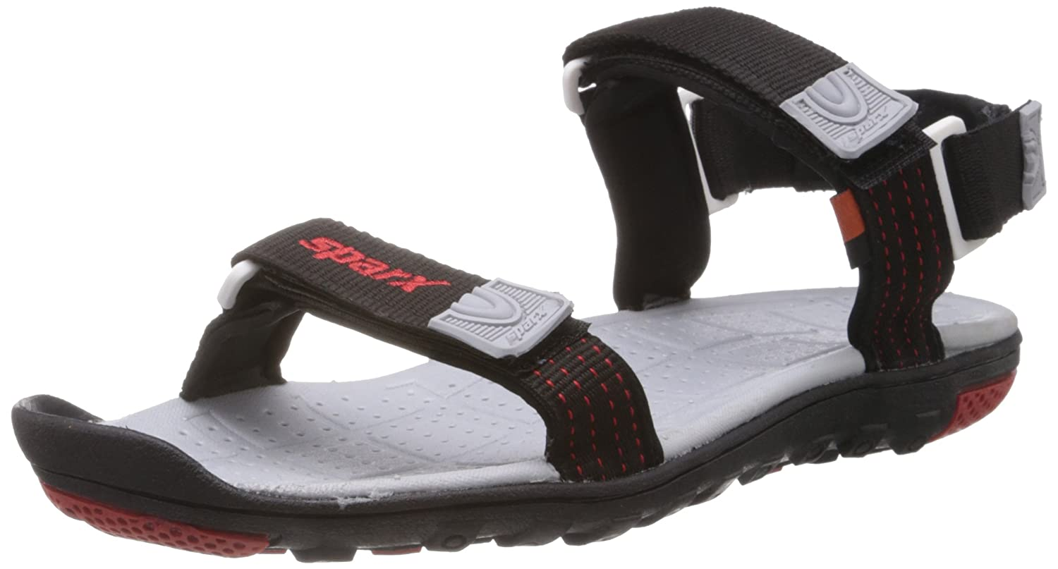 Black Athletic and Outdoor Sandals