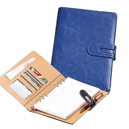 Cuaderno de anillas tamaño A6, A5, B5, A4, tapa para agenda ...