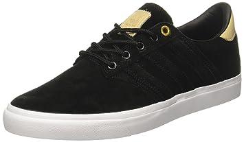 Adidas Seeley Premiere Classified - Zapatillas Deportivas Para Hombre, Negro - (negbas/supcol/ftwbla) 40
